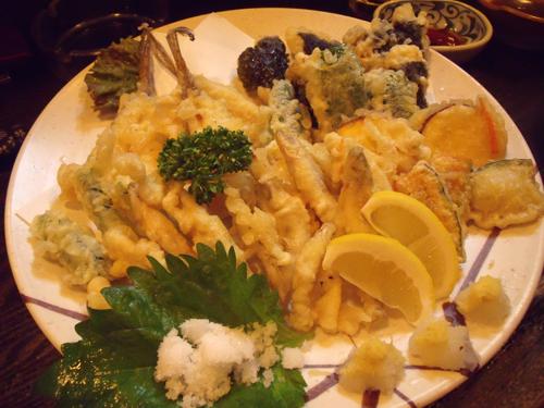 今度は天ぷらパラダイス