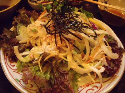 ツナとオニオンのサラダ