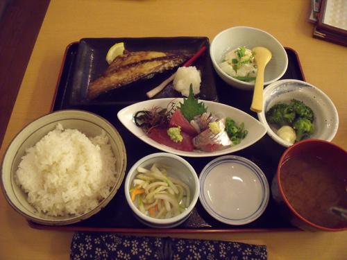 サバ文化焼き定食