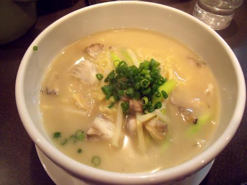 アサリ湯麺