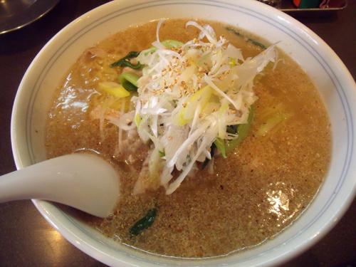 胡麻塩豚麺