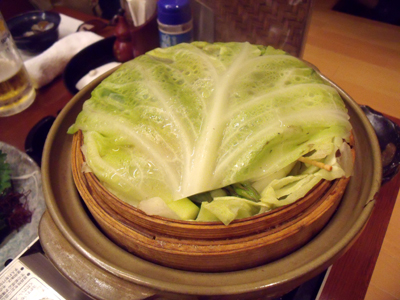 初夏の野菜セイロ蒸し