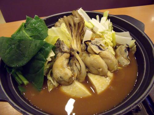 これが「かき味噌ちゃんこ鍋」