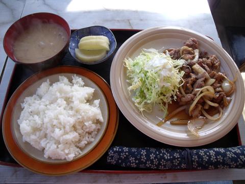 豚生姜焼ライス