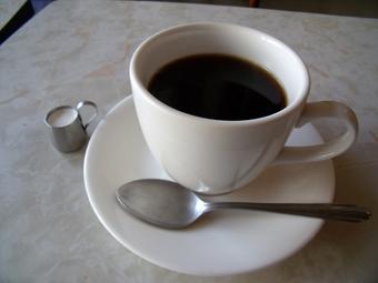 食後にコーヒーが付く