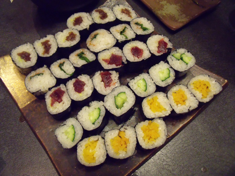 巻き寿司!