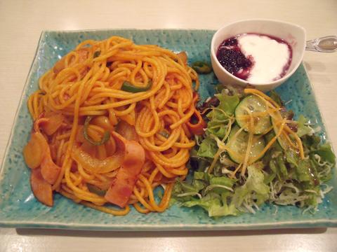 「スパゲッティセット」のナポリタン