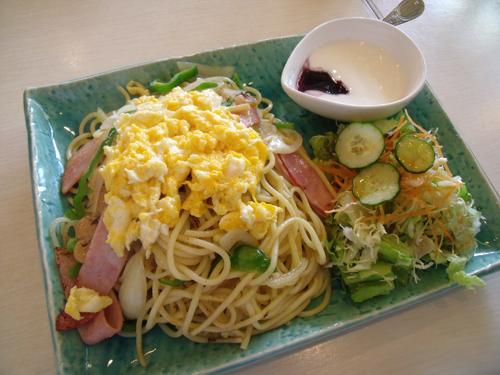 スパゲッティセットのカルボナーラ