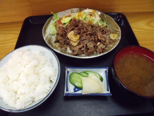 牛肉ニンニク焼
