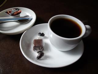 食後のミニコーヒー