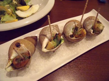 白ばい貝のガーリックオーブン焼き
