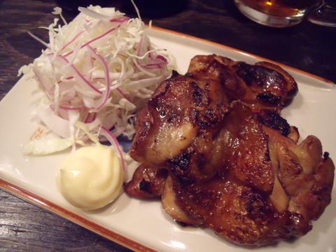 鶏カリカリ醤油焼
