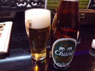 チャーンビールで乾杯