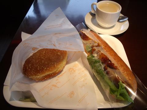 この日の朝食