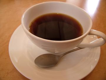 食後にもう1杯コーヒー