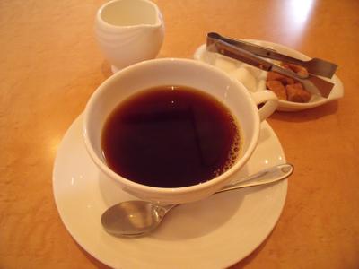まずはコーヒーでひと息