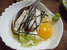 スタミナ豆腐