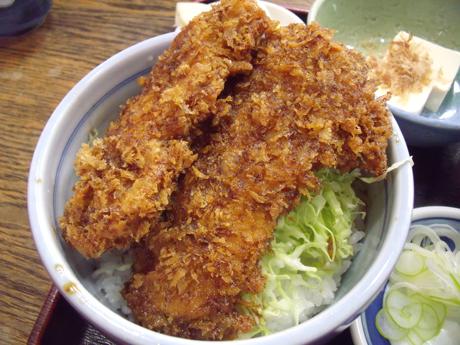 ミニソースカツ丼
