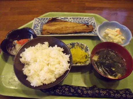 ホッケ焼定食