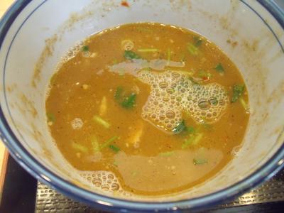 スープ割りで〆