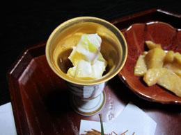 薩摩芋の和えもの