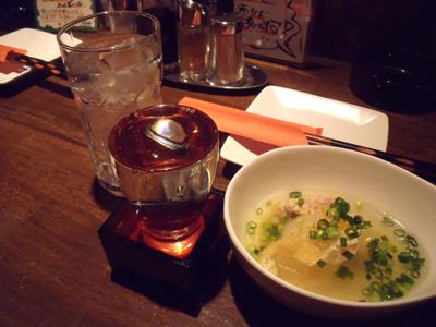 まずは「鍋島」で乾杯
