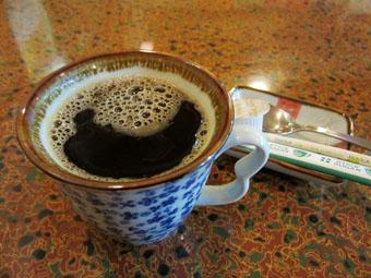 食後のコーヒーがうれしい