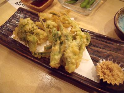 春野菜天ぷら盛り